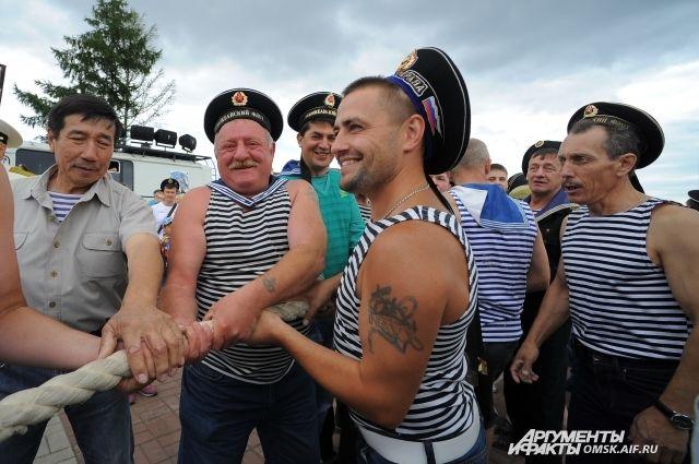 Тельняшку любят моряки всего мира.