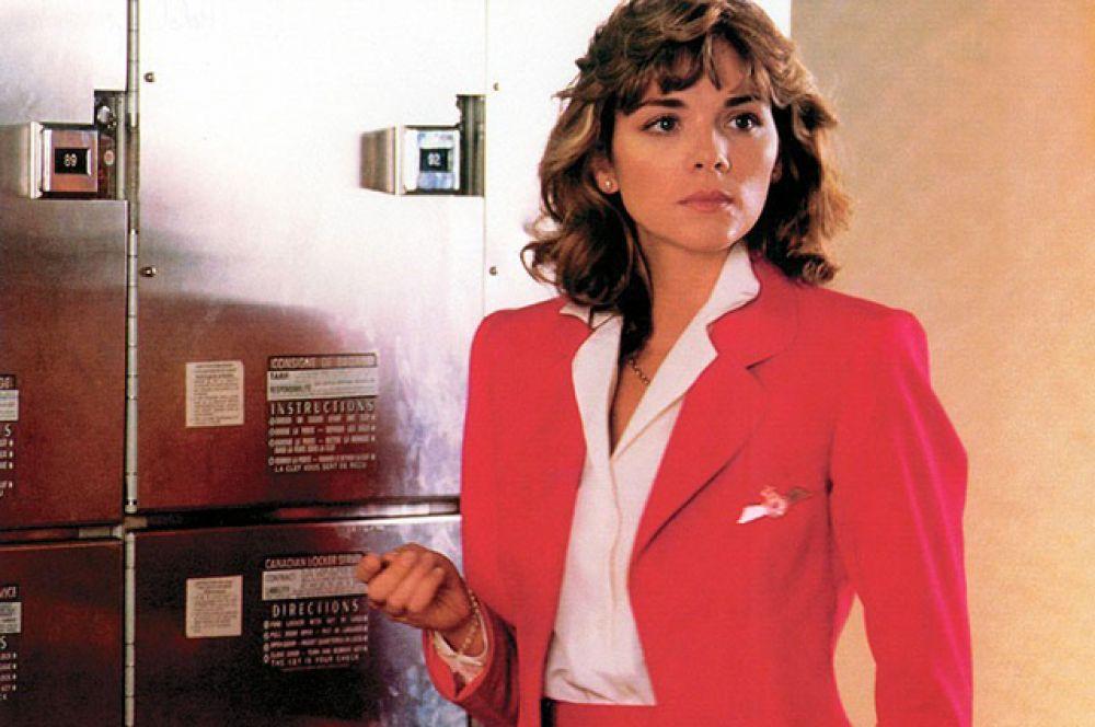 «Ограбление», где она сыграла вместе с Жаном-Полем Бельмондо.