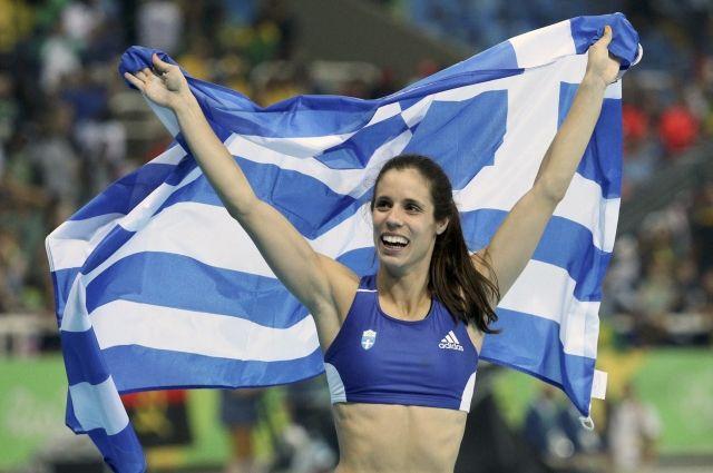 Гречанка Стефаниди неожиданно выиграла прыжки сшестом