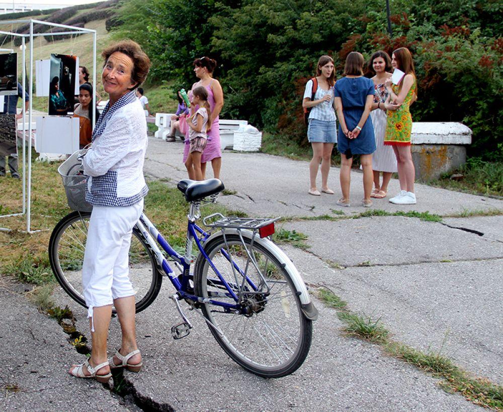 Велосипед - единсмтвенный вид транспорта, на котором можно было добраться до места