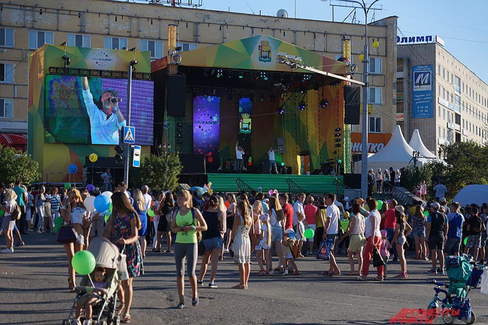 В минувшую субботу Соликамск отметил свой 586-й день рождения.