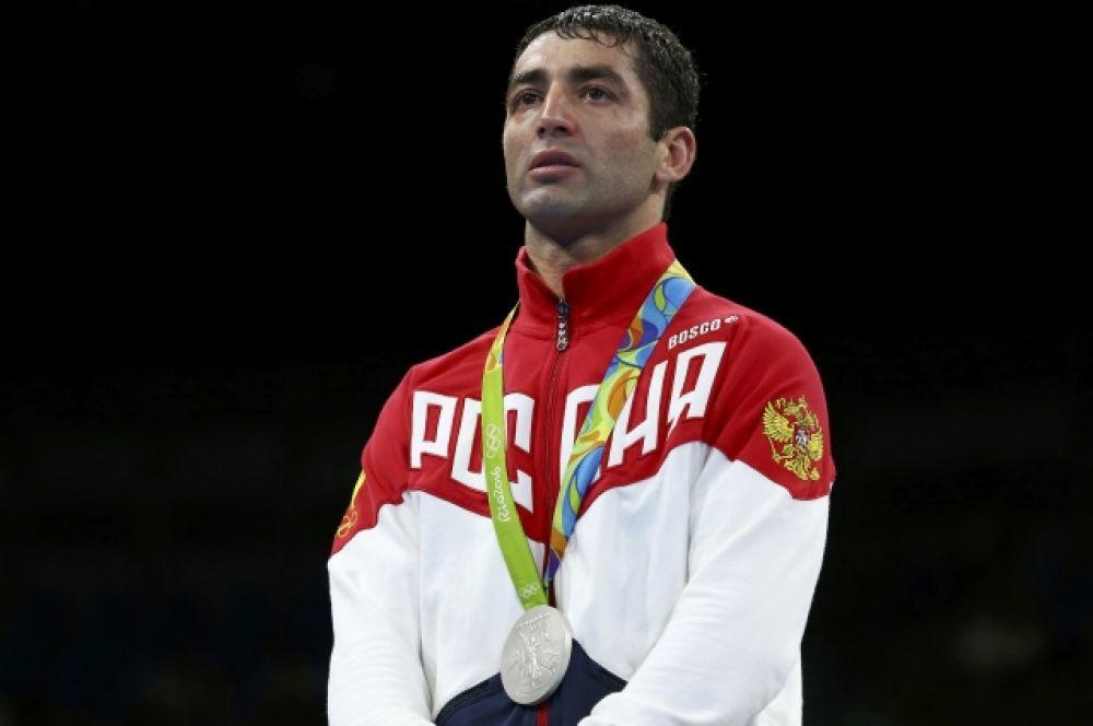 Миша Алоян завоевал серебро Олимпиады в Рио-де-Жанейро.