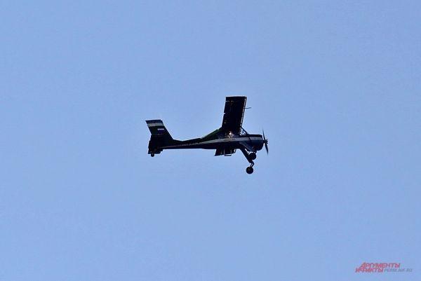 Польский лёгкий учебно-спортивный самолёт Vilga-35.