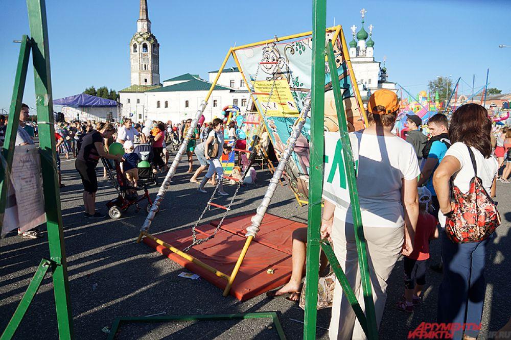 По традиции празднование Дня города совпало с мероприятиями, посвященными Дню шахтера.