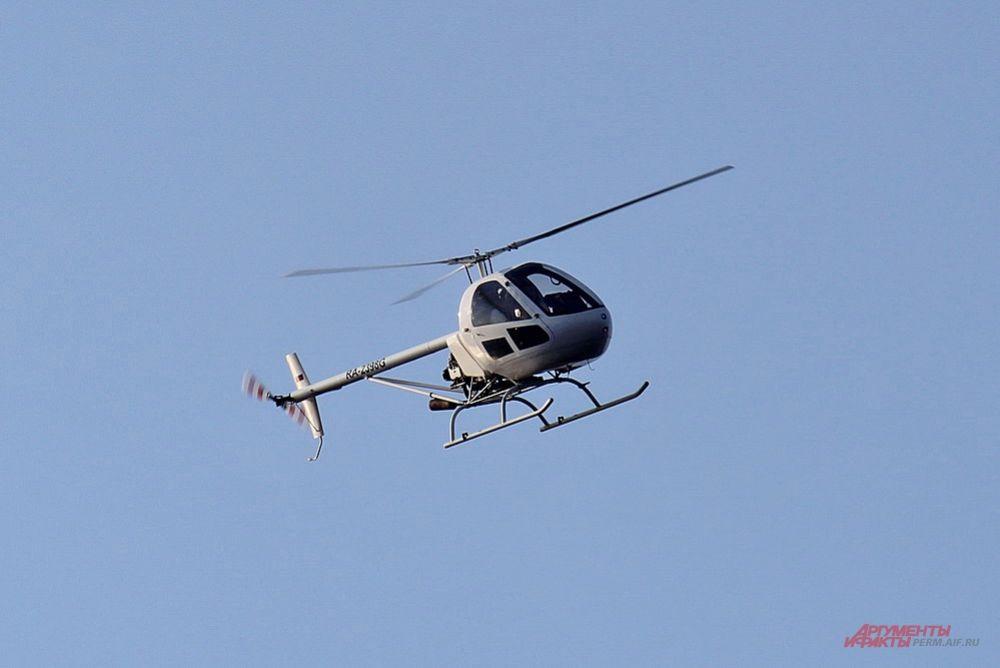 Также на авиашоу можно было увидеть вертолёты.