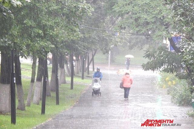 С понедельника по среду в городе будут дожди.