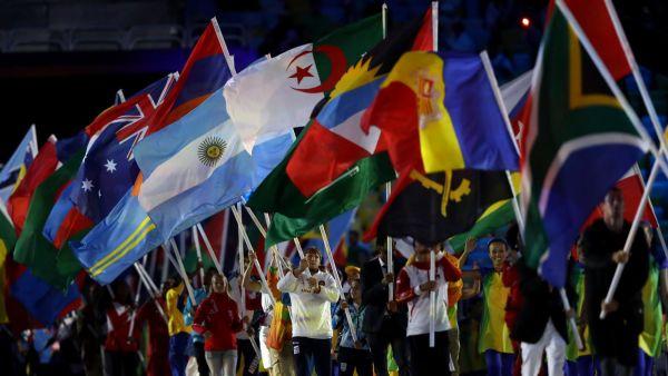 Вот парад участников олимпиады