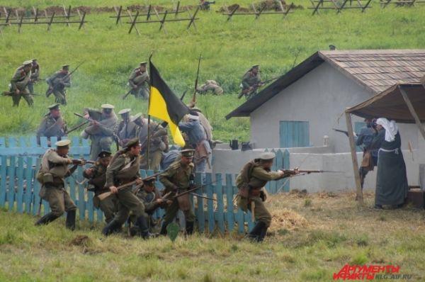 Захват лагеря австрийцев.