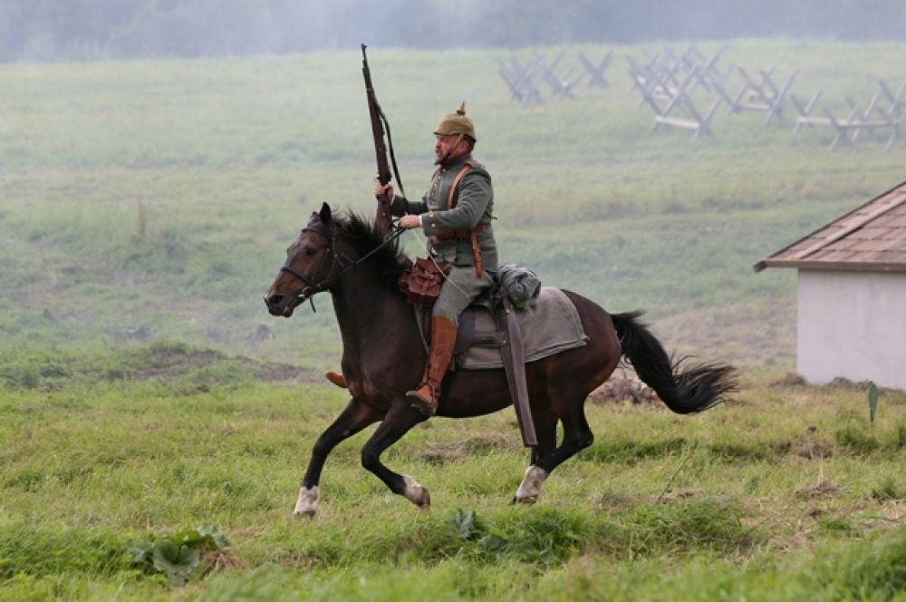 После двухлетнего перерыва на поле «Гумбинненского сражения» вернулась конница.