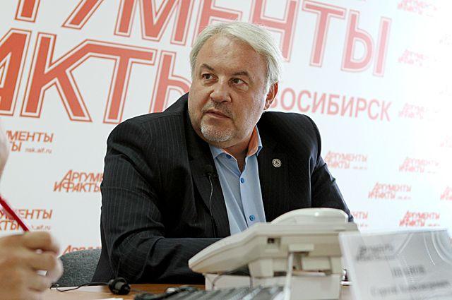 Генеральный менеджер ХК «Сибирь» Кирилл Фастовский