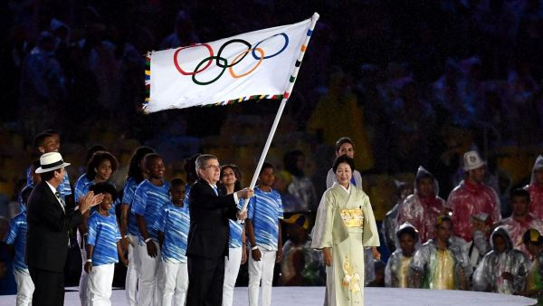 Президент Международного олимпийского комитета объявил о закрытии ХХХI олимпийских игр в Бразилии
