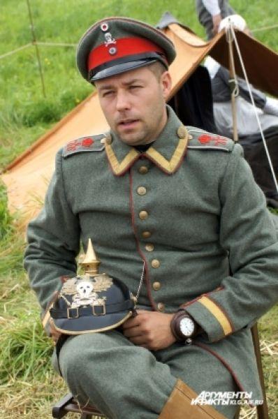 Немецкий офицер.