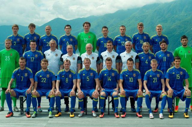 Сборная Украины проведет товарищеский матч сАргентиной