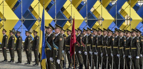 Новая форма в сочетании с национальными украинскими цветами хорошо гармонируют между собой