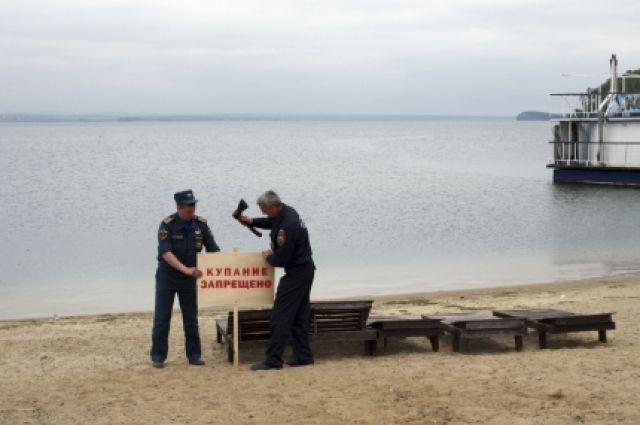 ВИркутске официально закрыли для купания берег Якоби