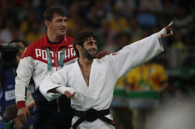 Беслан Мудранов в Рио.