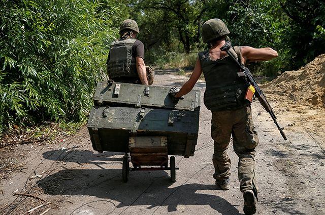 Украина: денег нет, но есть снаряды.
