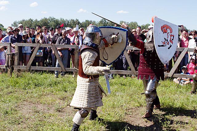на фестивале зрителей ждут исторические бои