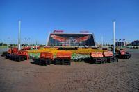 Омская «Арена» всегда гостеприимна.