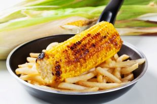 Кукуруза подходит не только для варки.