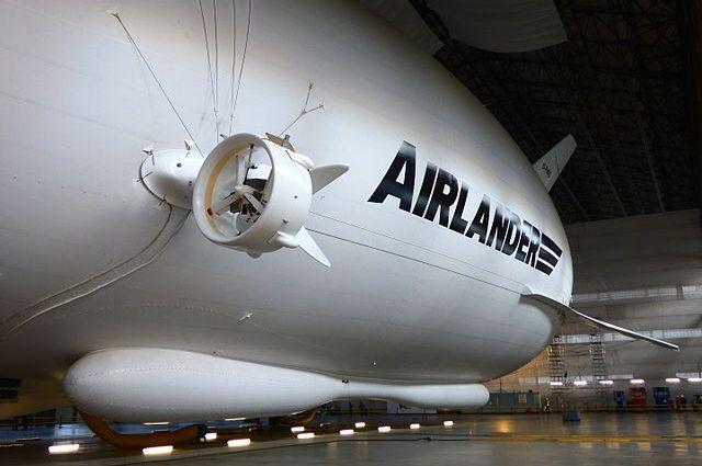 ВБритании потерпел крушение наибольший вмире дирижабль