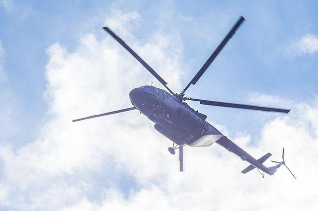 Считавшийся пропавшим вертолет Ми-8 приземлился вКрасноярском крае