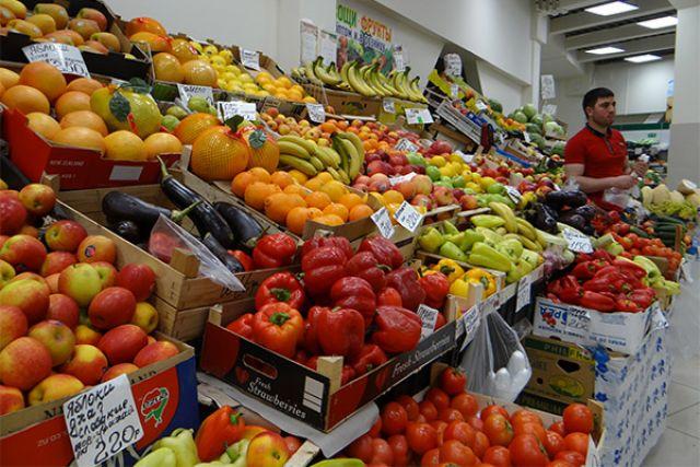 Недельная инфляция вРоссии ускорилась до0,1%