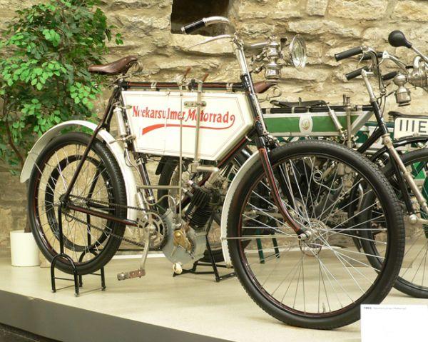 Третьим в истории был мотоцикл, выпущенный компанией NSU в 1901 году.