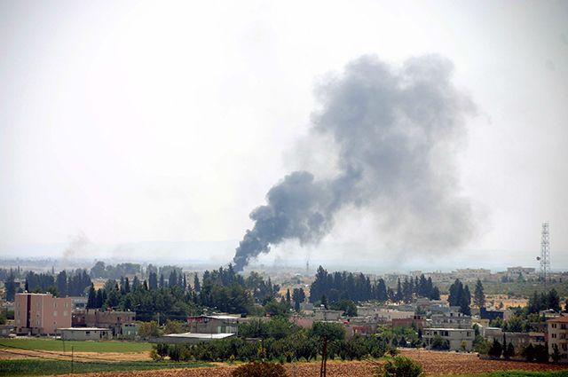 Обстановка на турецко-сирийской границе.