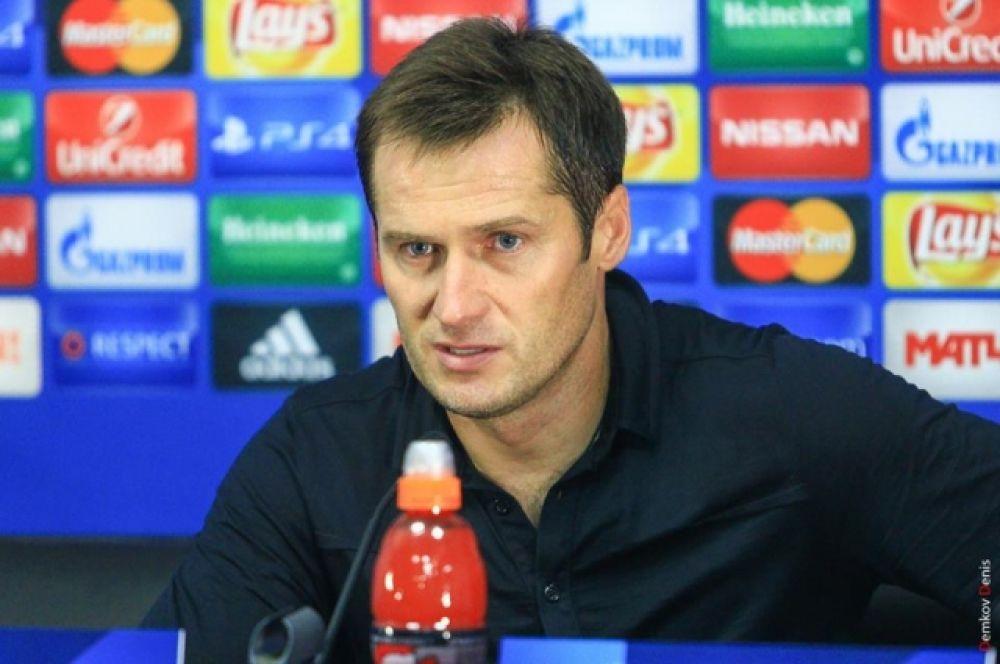Исполняющий обязанности главного тренера «Ростова» Дмитрий Кириченко: «Матч получился фантастическим. Спасибо команде за этот результат».