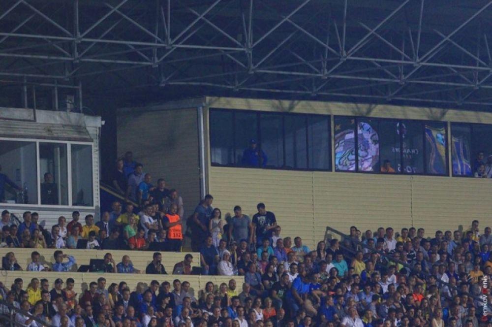 За игрой наблюдал бывший главный тренер команды Курбан Бердыев: его подопечные сделали невозможное!