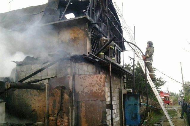 ВОрске напожаре погибли двое пожилых людей
