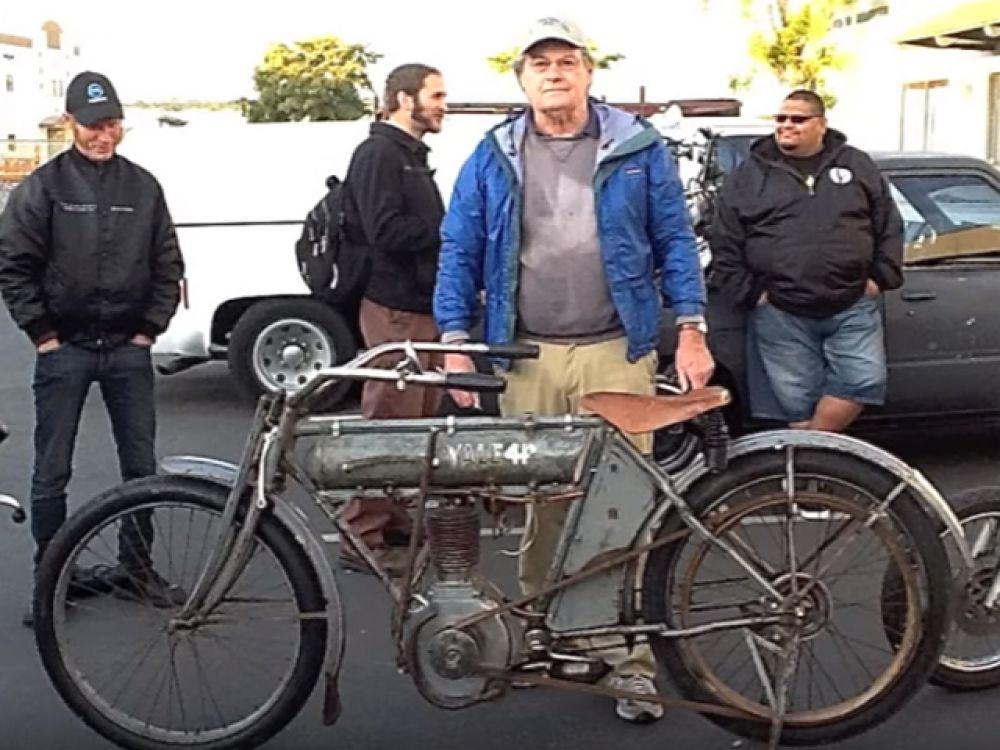 Мотоцикл Yale 1912 года.