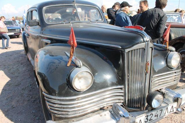 На работы по реставрации автомобиля ушло 10 лет.