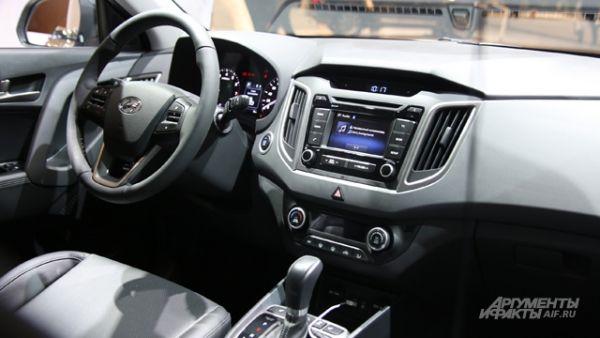 Интерьер Hyundai Creta.