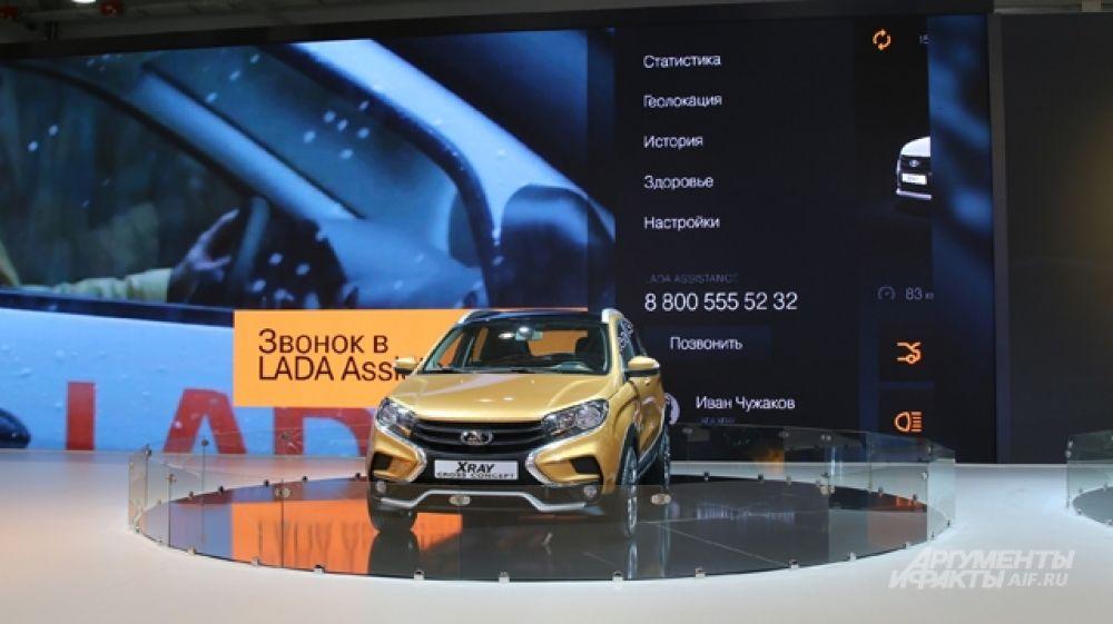 Презентация телематической платформы Lada Connect.