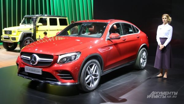 Mercedes-Benz GLC Coupe.
