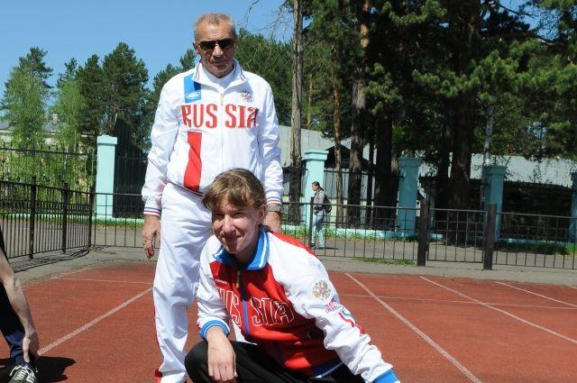 Руководитель белорусских паралимпийцев: ябуду лично держать флаг Российской Федерации