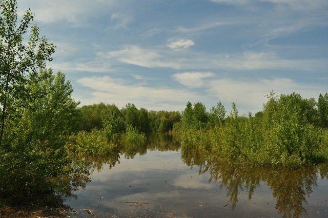 Cотрудники экстренных служб контролируют ситуацию вУсть-Большерецке, где разлилась река Амчигача