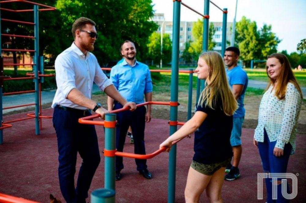 28 августа в Волгодонске состоится торжественное открытие двух современных спортплощадок.