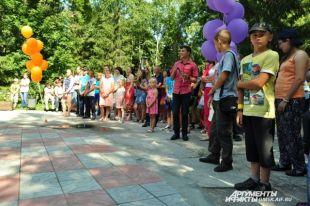 Дети от 7 до 17 лет принимали участие в фестивале.