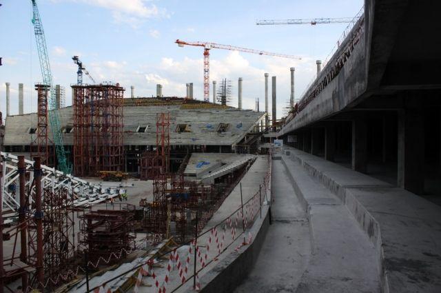 Шанцев потребовал ускорить работы покровле стадиона «Нижний Новгород»