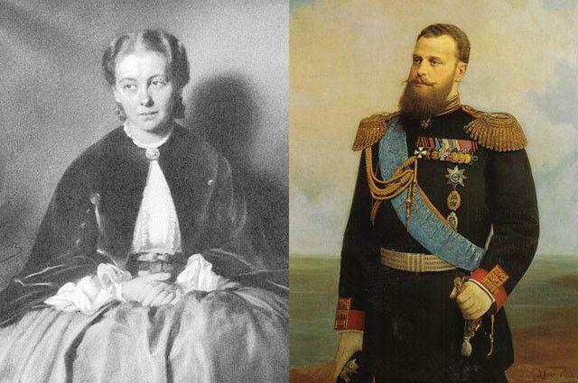 Избранницей великого князя стала любимая фрейлина его матери, императрицы Марии Александровны – Александра Жуковская.