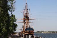 В 1700 году спустили на воду корабль«Гото Предестинация», а в 2014 году открыли музей, представляющий собой точную копию петровского судна.