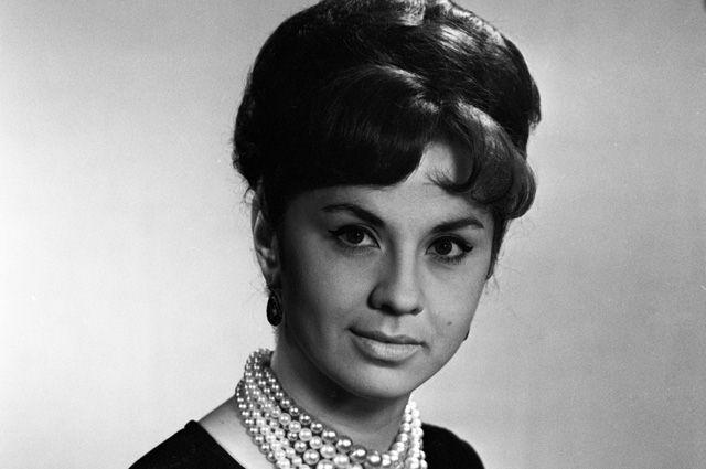 Лионелла Пырьева 1966 год.