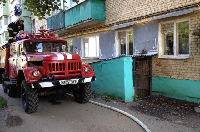 5 человек спасли огнеборцы изгорящего дома вПлавске
