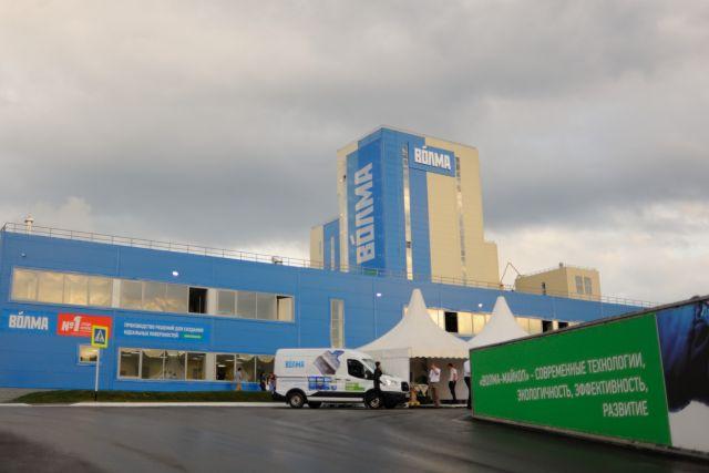 «Волма» открыла гипсовый завод стоимостью 2 млрд.