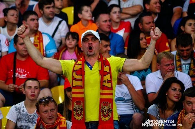 День болельщиков «Арсенала» пройдёт вБелоусовском парке Тулы