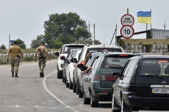 Наадмингранице сКрымом наслучай вторженияРФ появятся противотанковые ежи