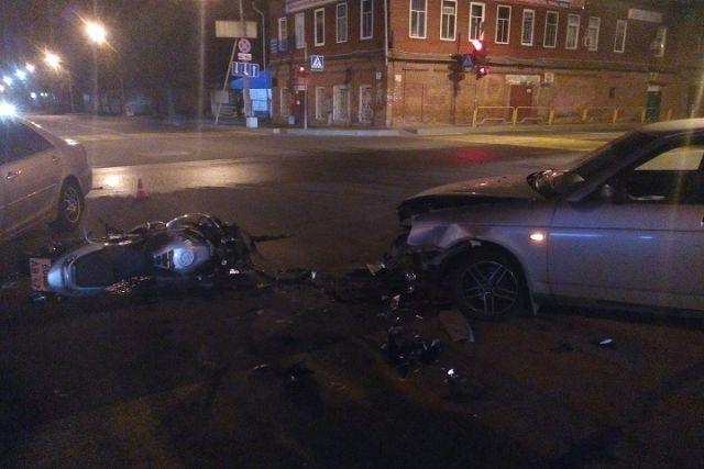ВЧереповце в трагедии умер мотоциклист
